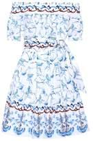 Peter Pilotto Off-the-shoulder cotton dress