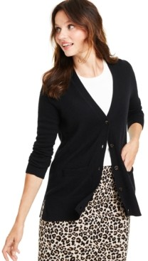 Charter Club Cashmere Boyfriend Cardigan, Regular & Petite Sizes, Created for Macy's