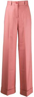 Pt01 classic flared trousers