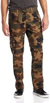 Southpole Men's Big-Tall Basic Cargo Long Camo Pants with Color Matching Belt