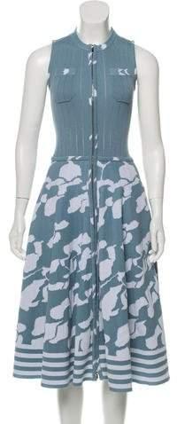 Chanel 2016 Knit Sleeveless Dress