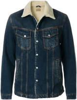 Nudie Jeans shearling denim jacket