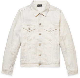 John Elliott Thumper Slim-Fit Distressed Denim Jacket