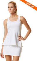 C&C California Exceed pleated back tank