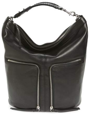 AllSaints Fetch Leather Backpack