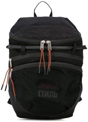 Heron Preston ctnmb foldable backpack black