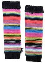 Muk Luks Women's Stripe Armwarmers - Multicolored