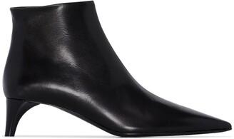 Jil Sander 45mm Leather Ankle Boots