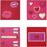 Kim Seybert Valentines Coasters (Set of 4)