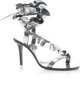Isabel Marant Ansel Metallic Leather Sandal