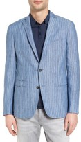 John Varvatos Men's Collection Thompson Linen Sport Coat