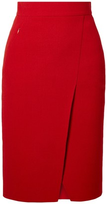 Akris Knee length skirts