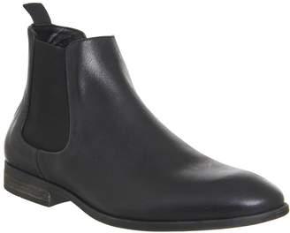 Ask the Missus Etta Chelsea Boots Black Nubuck