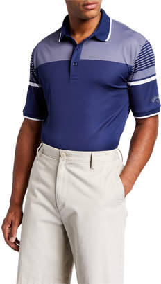 Callaway Men's Engineered Stripe Polo Shirt