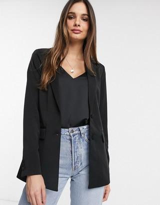 Vila blazer in black