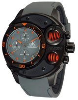 Adee Kaye Men's AK8003-MIPB/GY/GY-OR Commando Sports Chronograph Watch