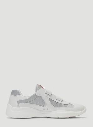 Prada Velcro Strap Sneakers