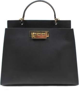 Zac Posen Earthette Leather Satchel