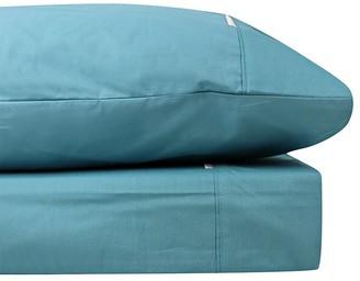 Odyssey Living Breathe Cotton Single Sheet Set - Baltic Blue