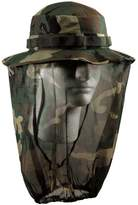 Rothco Boonie Hat With Mosquito Netting - Woodland Camo/Olive Drab