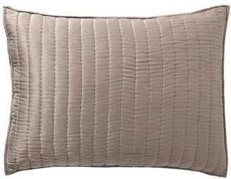 Pottery Barn Cotton Silk Quilted Shams
