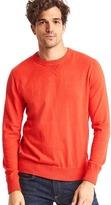 Cotton crewneck sweater