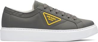Prada Logo Patch Low-Top Sneakers