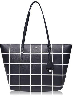 Lauren Ralph Lauren Vegan Leather Keaton Tote Bag