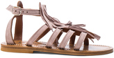 K. Jacques Suede Fregate Sandals