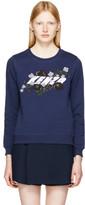 Kenzo Navy Logo Sweatshirt