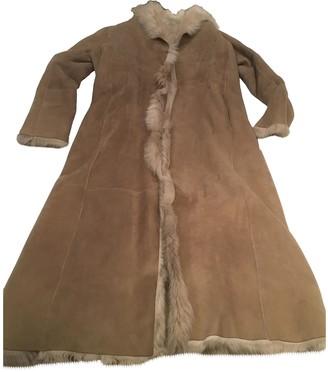 Joseph Beige Shearling Coat for Women Vintage