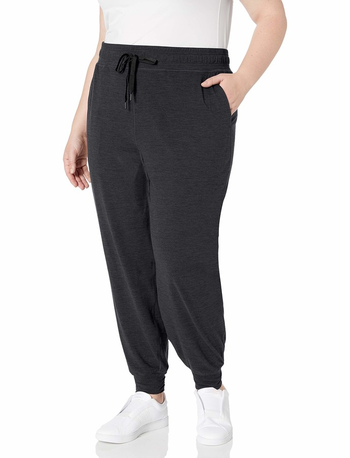 Essentials Brushed Tech Stretch Pant Femme
