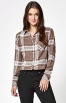 RVCA Jig 4 Flannel Button-Down Shirt