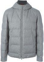 Brunello Cucinelli zip-up hooded jacket