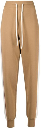 See by Chloe Double-Face Knit Track Trousers