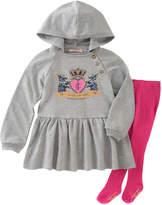 Juicy Couture Ribbed Hoodie Dress