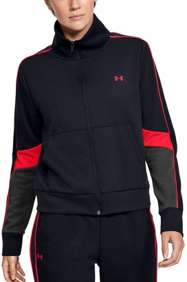 Under Armour Women's Double Knit Full-Zip Sweatshirt