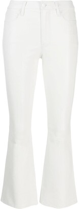 Frame flared fit trousers