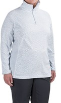 Columbia Glacial Fleece III Jacket - Zip Neck (For Plus Size Women)