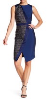 Catherine Malandrino Sleeveless Sheath Dress
