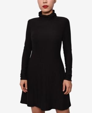 Planet Gold Juniors' Turtleneck Sweater Dress