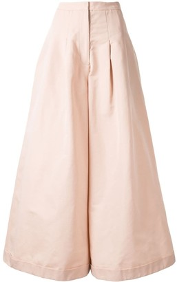 PASKAL clothes High-Waisted Wide-Leg Trousers
