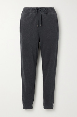 James Perse Supima Cotton-terry Track Pants - Gray