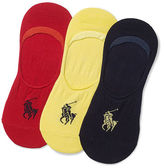 Polo Ralph Lauren No-Show Liner Sock 3-Pack