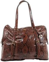 Prada Brown Python Handbags