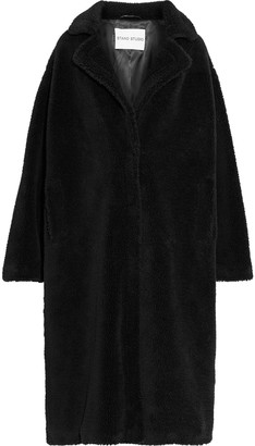 Stand Studio Maria Oversized Faux Shearling Coat