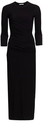 Helmut Lang Twist Knit Maxi Dress