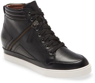 Linea Paolo Nava Hidden Wedge High Top Sneaker
