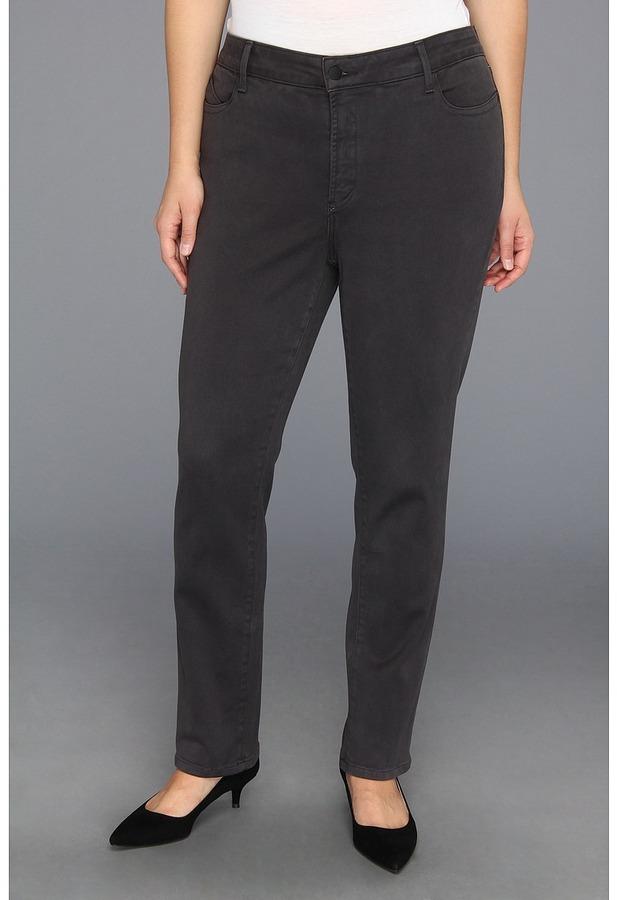 NYDJ Plus Size - Plus Size Jade Legging Super Stretch Denim (Caramel) - Apparel