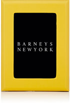 "Barneys New York Studio Grained-Leather 4"" x 6"" Picture Frame"